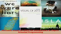 PDF Download  Microsoft Visual C 2015 An Introduction to ObjectOriented Programming Read Full Ebook