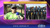 Pakistan women Cricket team kay saath - Samaa Kay Mehmaan - 04 Jan 2016