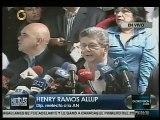 Estas fueron las primeras palabras de Ramos Allup luego de ser elegido presidente de la AN