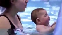 Babies Are Awesome  baby swimming  cute babies  funny babies  babies compilation