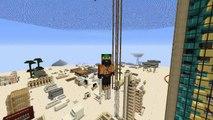 Minecraft Tutorials: 1x Wide 3x3 Piston Door (XBOX 360/ONE, PS3, PS4, PC)