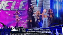 720pHDTV WWE Survivor Series 2009 Divas: Team Smackdown (Michelle McCool) vs Team Raw (Mickie James)