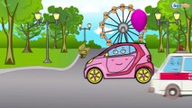✔ Ambulance with friends in the City. Cars Cartoons. Compilation for kids. 45 Episode. ✔