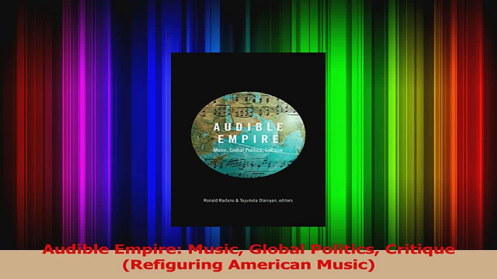 PDF Download  Audible Empire Music Global Politics Critique Refiguring American Music Download Onlin
