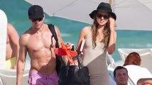 Ryan Phillippe am Strand mit seiner neuen Verlobten