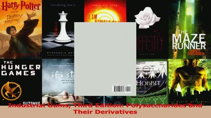 PDF Download  Industrial Gums Third Edition Polysaccharides and Their Derivatives Read Online