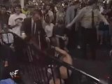 Wrestlemania 14 Stone Cold Steve Austin VS Shawn Michaels and Special Enforcer Mike Tyson