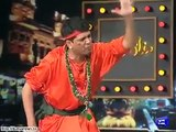 Watch Joggi Baba making fun of Abrar ul Haq and Resham | Mazaaq Raat