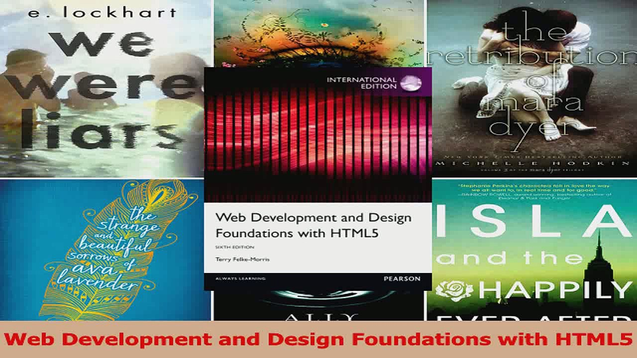 Pdf Download Web Development And Design Foundations With Html5 Download Full Ebook Video Dailymotion