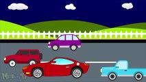 Truck Vs Sport Car - Monster Trucks For Children - Mega Kids Tv