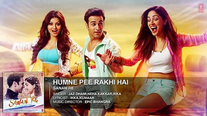 Humne Pee Rakhi Hai Full Song (Audio) | 'SANAM RE' | Pulkit Samrat, Yami Gautam