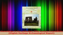 PDF Download  Stonehenge in its Landscape 20th Century Excavations English Heritage Archaeological Download Full Ebook