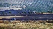 Türk tankını gören IŞİD militanlarının kaçışı!