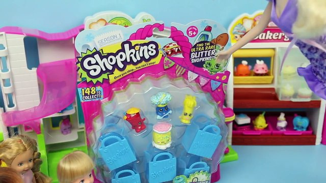 Frozen Kids Buy Shopkins Krista & Felicia Shopkins Shopping with Elsa & Anna by DisneyCarT