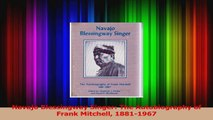 PDF Download  Navajo Blessingway Singer The Autobiography of Frank Mitchell 18811967 PDF Online