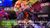 The Stunning Statues of PAX Prime 2015