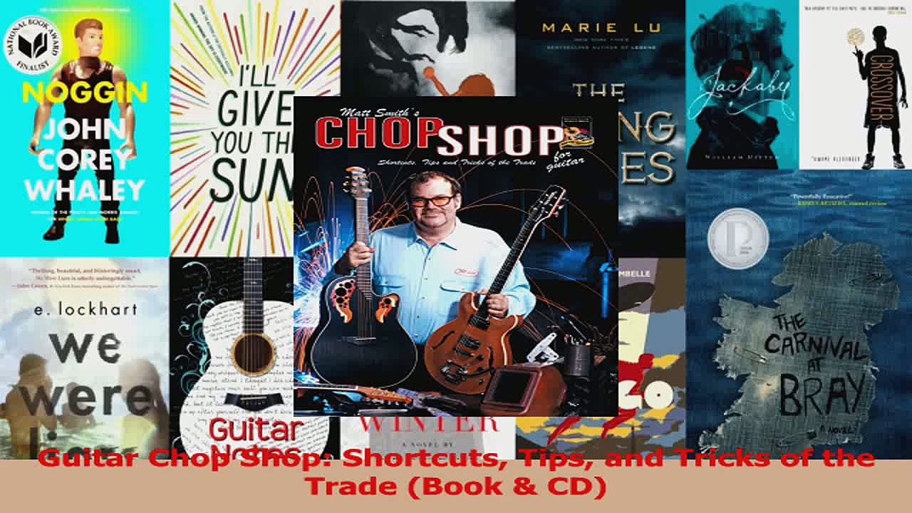 PDF Download  Guitar Chop Shop Shortcuts Tips and Tricks of the Trade Book  CD Download Online