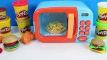 Comme À La Maison Four À Micro-Ondes Jouet Play-Doh Cuisine Jouet De Coupe De Cuisine Set De Jouets De Vidéos