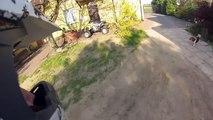 Suzuki LT Z400 | GoPro sunny day | sport atv quad fast ride | majówka 2014 | helmet cam HD