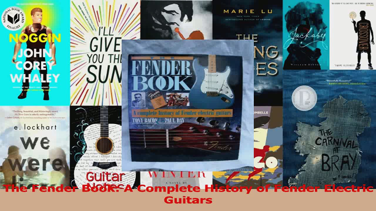 PDF Download  The Fender Book A Complete History of Fender Electric Guitars Read Full Ebook
