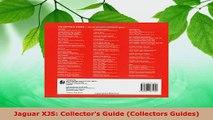 PDF Download  Jaguar XJS Collectors Guide Collectors Guides Download Full Ebook