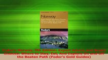 Download  Fodors Norway 5th Edition Expert Advice and Smart Choices Where to Stay Eat And Explore Ebook Free