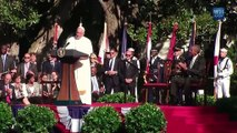 Full: Pope Francis Speaks at White House Welcoming Ceremony (9-23-15)