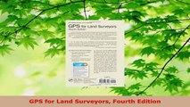Download  GPS for Land Surveyors Fourth Edition PDF Online