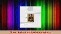 PDF Download  Jinnah India Partition Independence PDF Full Ebook