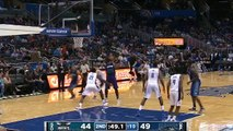 Michael Kidd Gilchrist Arm Injury | Hornets vs Magic | October 3, 2015 | 2015 NBA Preseaso