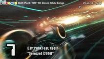 Daft Punk`s TOP 10 Billboard Dance Club Songs