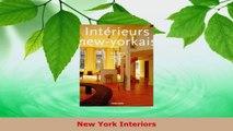 Read  New York Interiors EBooks Online