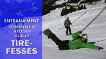 Snowboard - Comment se relever sur le tire-fesses