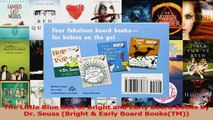 PDF Download  The Little Blue Box of Bright and Early Board Books by Dr Seuss Bright  Early Board Read Full Ebook