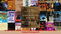 PDF Download  Americas Bank The Epic Struggle to Create the Federal Reserve PDF Online
