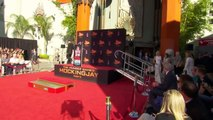 Jennifer Lawrence, Josh Hutcherson & Liam Hemsworth Hand and Foot Ceremony HUNGER GAMES (2