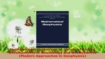 Read  Mathematical Geophysics A Survey of Recent Developments in Seismology and Geodynamics EBooks Online