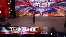 Shaheen Jafargholi (HQ) Britains Got Talent
