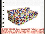 Gilda ? DOUBLE SOFABED - SPOTTY COTTON Fold Out Chair bed Guest Z Sofa bed Futon folding Mattress