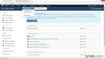 051 Configuring the back-end and front-end administrator screens and options - Working with Joomla! 3.3