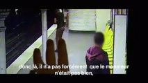 Um ladrão salva a vida à sua própria vitima, que cai a linha do metro(métro de Paris)
