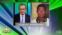 Cristiano Ronaldo canlı yayını terk etti