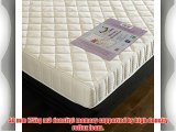 Happy Beds StressFree 6inch Memory Foam 6000 Orthopaedic Firm Mattress with Removable zip cover