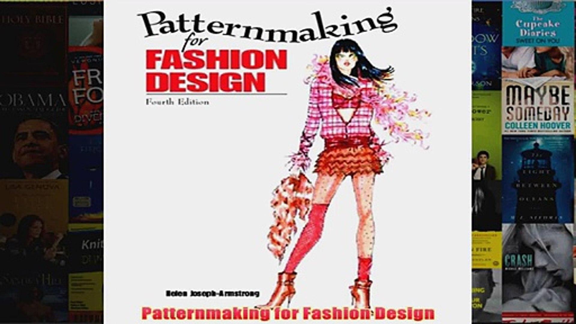 Patternmaking For Fashion Design Video Dailymotion