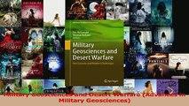 PDF Download  Military Geosciences and Desert Warfare Advances in Military Geosciences Download Online