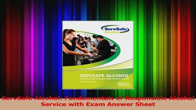 PDF Download ServSafe Alcohol Fundamentals of Responsible Alcohol