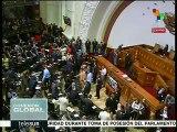 Venezuela: oposición insiste en juramentar a diputados impugnados