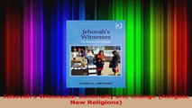 PDF Download  Jehovahs Witnesses Continuity and Change Ashgate New Religions Read Full Ebook