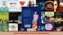 PDF Download  The Mysterious Affair at Styles Hercule Poirots First Case Hercule Poirot Mysteries Read Online
