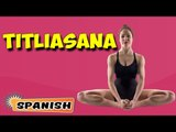 Titali Asana | Yoga para principiantes | Yoga During Pregnancy & Tips | About Yoga in Spanish